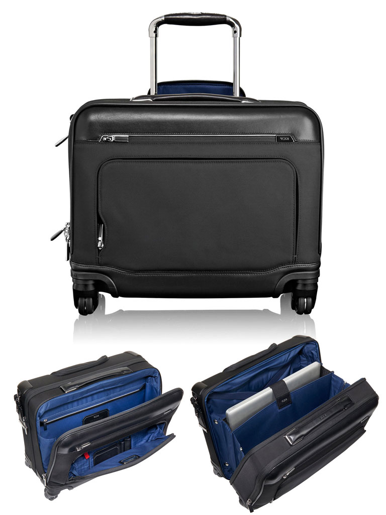 TUMI McAllen Wheeled Laptop Brief with Laptop Insert