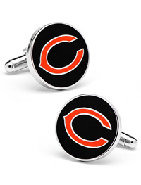 NFL CHICAGO BEARS CUFFLINKS