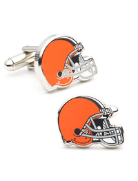 NFL CLEVELAND BROWNS CUFFLINKS