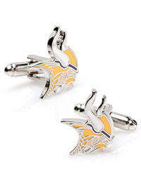 NFL MINNESOTA VIKINGS CUFFLINKS