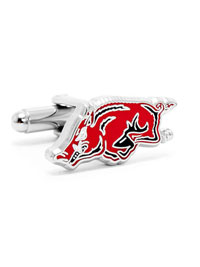 NCAA Arkansas Razorbacks Cufflinks