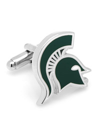 NCAA Michigan State Spartans Cufflinks