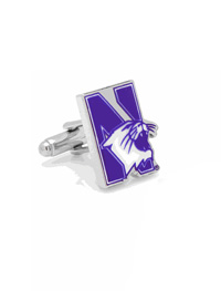 NCAA Northwestern University Wildcats Cufflinks