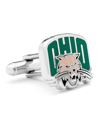 NCAA Ohio University Bobcats Cufflinks