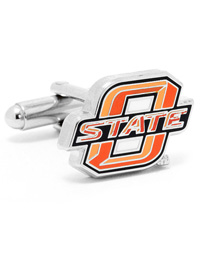 NCAA Oklahoma State University Cowboys Cufflinks