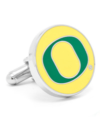 NCAA University of Oregon Ducks Cufflinks