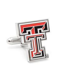 NCAA Texas Tech University Red Raiders Cufflinks