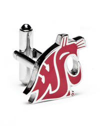 NCAA Washington State Cougars Cufflinks