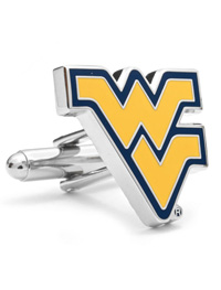 NCAA West Virginia University Cufflinks