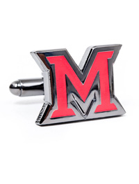 NCAA Miami University of Ohio Cufflinks