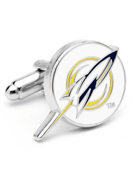 NCAA University of Toledo Rockets Cufflinks