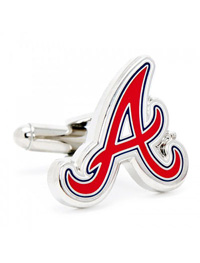 MLB ATLANTA BRAVES CUFFLINKS
