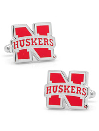 NCAA University of Nebraska Cornhuskers Cufflinks