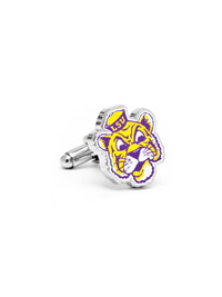 NCAA LSU Tigers Vintage Cufflinks