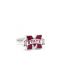 NCAA Mississippi State Bulldogs Cufflinks