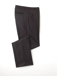 Pant-Charcoal Solid Plt