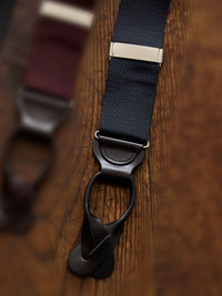 NAVY BLUE                      Solid Colored Braces