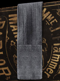CHARCOAL Bespoke Wool Solid Socks