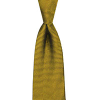 Tie-Gold Woven Solid