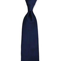 Formal Tie-Navy Stripe