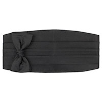 Cummerbund Self Tie Set -