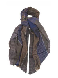 GRAY Glen Tweed Scarf by Hogarth