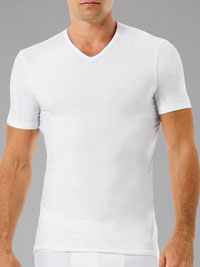 WHITE Naked Signature V-Neck Under Shirt
