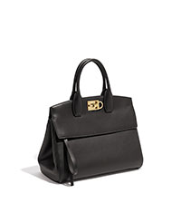 "BLACK Ferragamo ""The Studio"" Handbag"