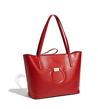 "RED Ferragamo ""City"" Tote"