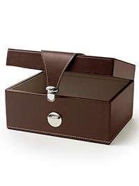 Custom Leather Valet Box