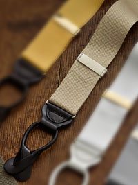 KHAKI                          Solid Colored Braces