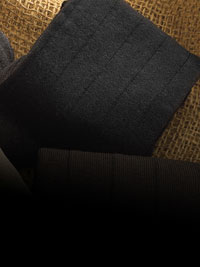 BLACK Bespoke Cotton Solid Socks