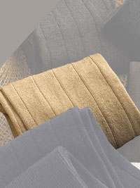 BEIGE Bespoke Cotton Solid Socks