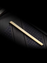 GOLD Solid Skinny Tie Bar By Tom James