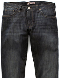 Dark Blue Wash Jeans By 34 Heritage
