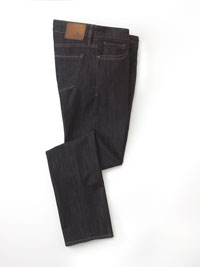 BLUE Tea Stained Fade Jeans By 34 Heritage