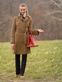 CAMEL Ladies Overcoat by TJWomen