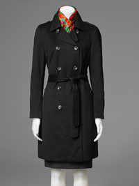 BLACK Ladies Overcoat by TJWomen