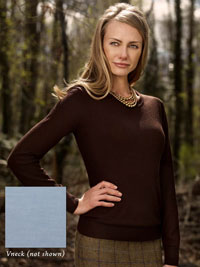 LAGOON Cashmere Sweater V-Neck By Tom James