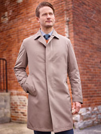 TAUPE Raincoat by Sanyo