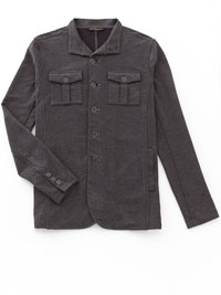 CHARCOAL Shirt Jacket by John Varvatos