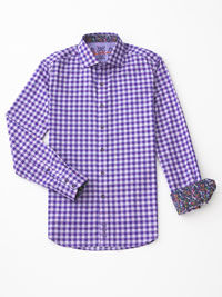 PURPLE Sport Shirt by Robert Graham
