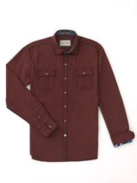 RED Sport Shirt by Robert Graham