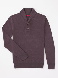 PLUM Shawl Collar Sweater by Agave