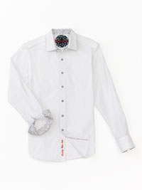 WHITE Sport Shirt by Robert Graham