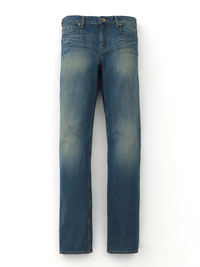 INDIGO CLASSIC FADED JEANS BY ROBERT GRAHAM