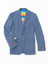 BLUE Blazer by Robert Graham