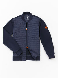 NAVY Quilted Jacket by Save the Duck