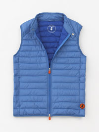 BLUE Quilted Vest by Save the Duck