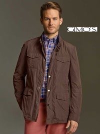BROWN Jacket by Gimo